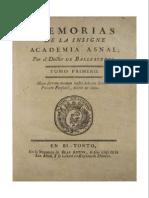Memorias de La Insigne Academia Asnal