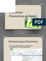 Funciones Financieras en Excel