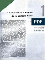 Tarea 1- La Naturaleza y Alcance de La Geologia Fisica