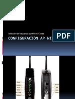 Configuracion AP Wifi