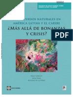 Recursos Naturales a Latina