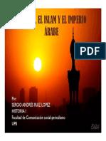 Unidad 7 Mahoma , El Islam y El Imperio Árabe - Sergio Andrés Ruiz