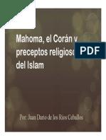 Unidad 7 Mahoma y El Corán - Juan Darío de Los Ríos