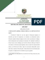 Historia Del Derecho Laboral Argentino