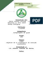 Analisis FODA y Cuestionario Trabajo