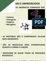 Proteínas e Aminoácidos