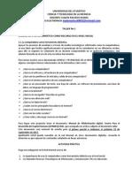 Ciencia y Tecnologia en La Infancia Taller No 1 2013-2