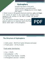 Lec 2 Hydrosphere