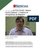 21-04-2014 Metro Noticias - CRONICAS POLITICAS, Alberto Guerra Salazar, Y todavía se enorgullecen de Bejarano.