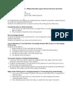 lesson plan framework