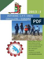 Informe de Campo Chulluni[1]