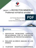 10.- SEIA y Proyectos Mineros. Problemas Normativos Actuales