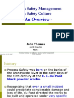 Process Safety Management & Safety Culture 22 Nov 2007