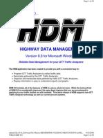HDM Software)