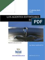 19 Los Agentes Extintores El Agua 1a Edicion Abril2010