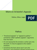 more on aristotles appeals
