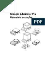 Manual Balança Adventure Pro