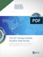 Kinder Institute Houston Area Survey