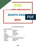 Pca Quinto 2014