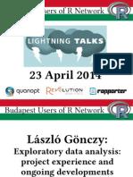 English R Lightning Talks @ BURN (2014-04-22)