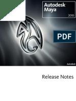 Maya Releasenotes 0