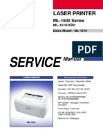 Samsung ML-1610 Printer Service Manual