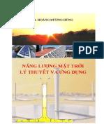 Năng Lượng Mặt Trời Lý Thuyết Và Ứng Dụng - Ts.hoàng Dương Hùng, 214 Trang