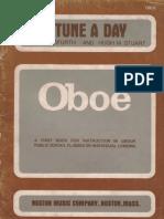 OBOÉ - MÉTODO - A Tune a Day - Nível Básico