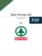 Spar Research Report