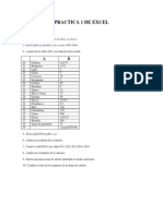Practica 1 de Excel
