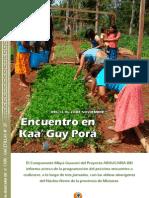 Gacetilla 27 Encuentro en Kaa Guy Pora