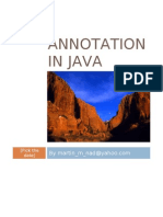 Annotation in Java