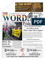 The Word May 2014-published by Ted Fleischaker of Indianapolis, Indiana
