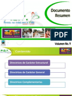 Vol. 9 Documento Resumen