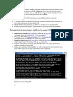 Con Esta Guía Vas a Poder Instalar Windows XP en Tu Computadora Desde Una Memoria USB de Al Menos 1 GB en Lugar de Usar El CD de Instalación