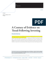 A Century of Evidence on Trend Following