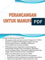 Modul 9 Design for Manufacturing