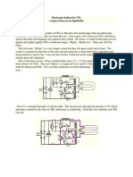 Electronic Ballast for CFL