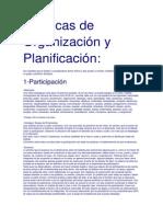 Técnicas de Organización y Planificación