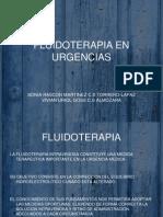 Fluidoterapia en Urgencias