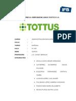 Hipermercados Tottus Sa (1)