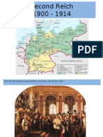 Second Reich 1900 - 1914