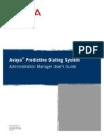 Avaya Predictive Dialing System