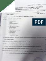 OOAD IInd internal paper