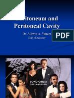 Peritoneum and Peritoneal Cavity