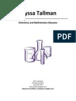 tallmanalyssa resume 2014
