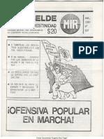 El Rebelde 237 Marzo 1987