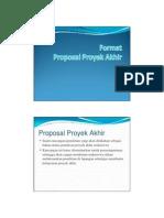 Proposal Proyek Akhir