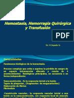 Semana 2 Hemostasia, Hemorragia Quirurgica y Transfusion (1)