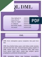 SQL DML database